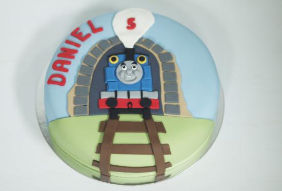Tarta Thomas y amigos