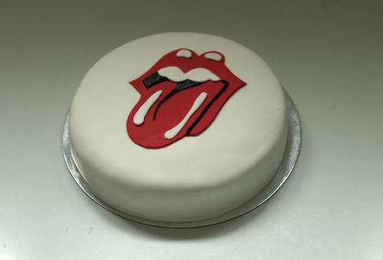 Tarta rolling stones