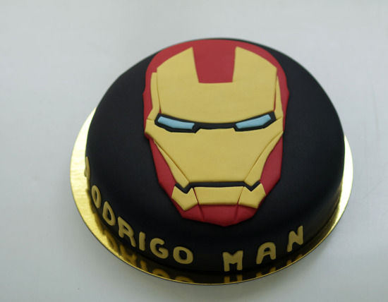 tarta iron man