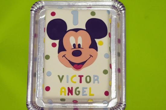 tarta mickey rectangular