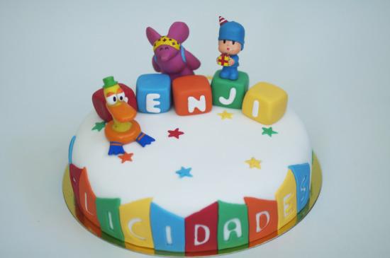 tarta pocoyo