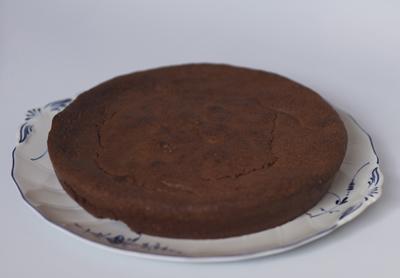 Tarta de chocolate sin lactosa