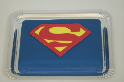 Tarta Superman